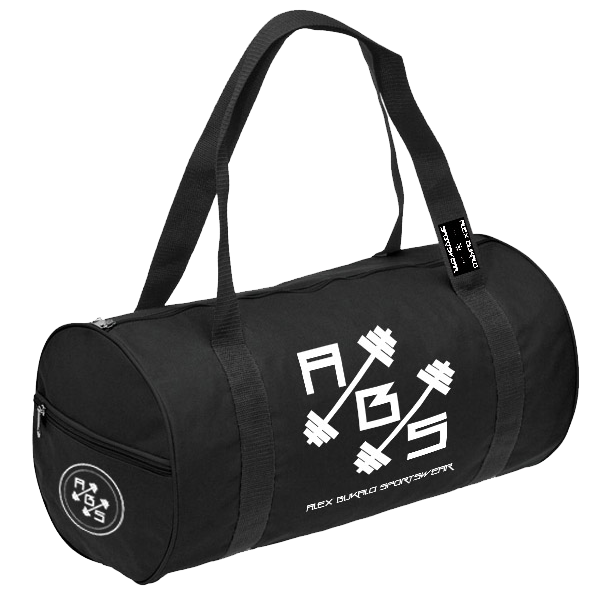 Gym Bag – Black – Alex Bukalo System