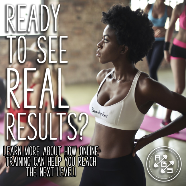 Ready to See Real Results Online Training Ad